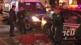 Miraflores: sujeto murió tras ser acribillado en conocido local de comida rápida