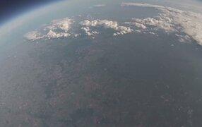 iPhone grabó espectaculares imágenes tras ser lanzado al espacio