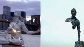 FOTOS: las esculturas más inquietantes que se han hecho alrededor del mundo
