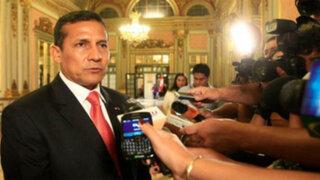 Presidente Humala: No hemos faltado a la verdad sobre frontera con Chile
