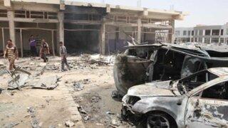 Miles de combatientes iraquíes protegen Bagdad ante inminente invasión