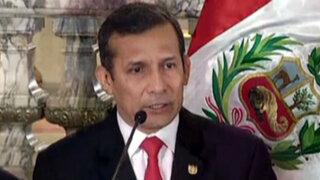 Humala promulga cuestionada Ley Universitaria pese a protestas de la ANR