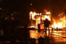 Brasil: disturbios tras derrota de su selección dejó una persona fallecida