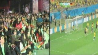 Mundial 2014: así vivieron la semifinal alemanes y brasileros residentes en Lima
