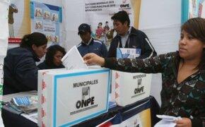 ONPE presentó nuevos diseños de cédulas de sufragio manual y electrónica