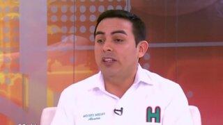 Presidente de la Conaco es el candidato más joven a la alcaldía de Lima