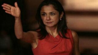 Nadine Heredia aseguró que no sabían que Amado Romero pertenecía a Sendero