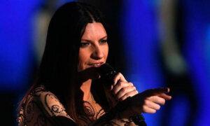 Laura Pausini invitó a sus fanáticos a su concierto en la Feria del Hogar