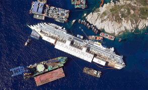 Italia: Reflote de crucero Costa Concordia empezará el lunes