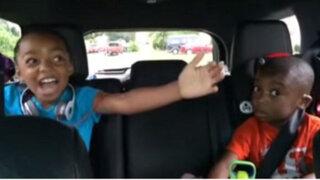 VIDEO: la reacción de dos niños cuando les dicen que van a ir a Disney World