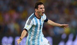Lionel Messi recibió el Balón de Oro como el mejor jugador del Mundial