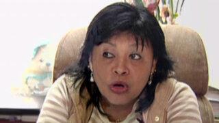 Esther Saavedra desafió a Nadine Heredia por apoyo a candidatura de Solórzano