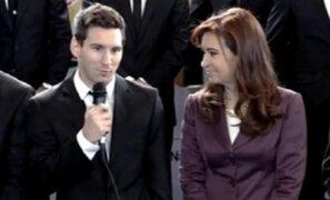Bloque Deportivo: Selección Argentina fue recibida como campeona en su país