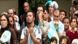 No llores por mí Argentina: hinchas lamentan derrota de su selección en la final