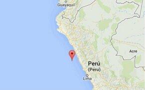 Sismo de 4,1 grados de magnitud se registró en la localidad de Huarmey