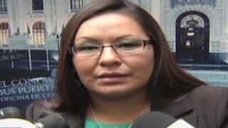 Julia Teves afirma que Esther Saavedra le faltó el respeto a Nadine Heredia