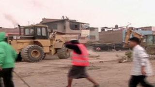 Comas: denuncian ataques de obreros por terreno en litigio