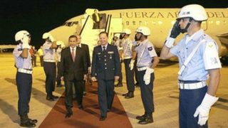 Presidente Humala llegó a Brasil para participar en la Cumbre BRICS