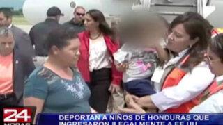 Honduras: deportan a niños que ingresaron ilegalmente a Estados Unidos