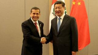 Presidentes de Perú y China consolidan Asociación Estratégica Integral