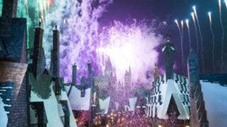 Inauguran oficialmente nuevo parque de Harry Potter en Japón