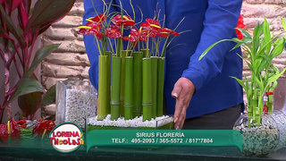 Sepa cómo hacer un decorativo floral para atraer la buena suerte