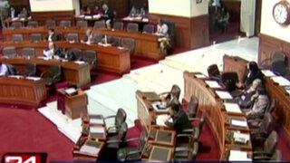 Congreso: oposición evaluará si continúa con pedido de censura al Gabinete