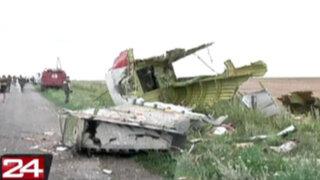 Ucrania: confirman que avión de Malasia Air Lines se estrelló con 295 pasajeros