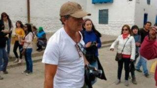 Cusco: Antonio Banderas participa en fiesta de la Virgen del Carmen