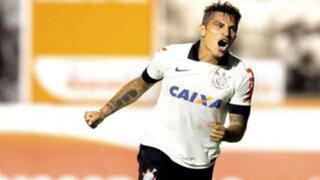 Paolo Guerrero anotó en triunfo de #Corinthians sobre Internacional