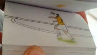 VIDEO: recrean en dibujos los cinco mejores goles del Mundial Brasil 2014