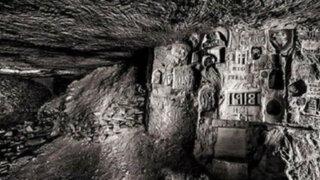 FOTOS: difunden inéditas fotografías de túneles secretos de la I Guerra Mundial