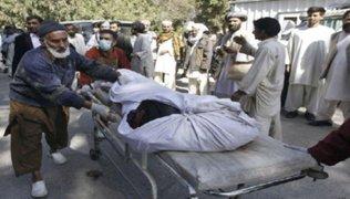 28 talibanes fallecieron tras violentos bombardeos en Afganistán