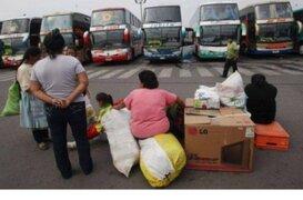Fiestas Patrias: pasajes interprovinciales se incrementan hasta en 400%