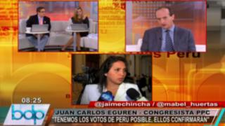 PPC espera contar con votos de Perú Posible para definir presidencia del Congreso