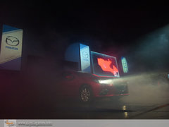 Enemigos Públicos y la fiesta de presentación del Mazda 3 en el Jockey Club