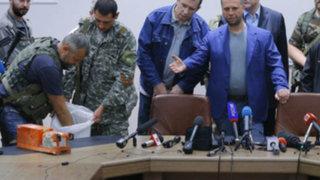 Gobierno de Malasia ya tiene las cajas negras del avión siniestrado en Ucrania