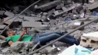Israel: militar mató a un joven que buscaba a familiares entre los escombros