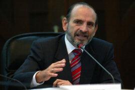 Yehude Simon anunció retiro de su candidatura presidencial