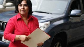 Ana Jara descartó estrategia para promover candidatura de Nadine Heredia
