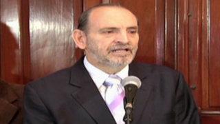 Congresista Yehude Simon se integró a la bancada de Perú Posible