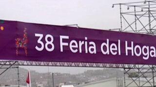 Feria del Hogar se inaugura este jueves 24 en Chorrillos