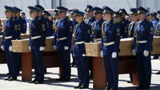 Restos de las víctimas del avión Malaysia Airlines llegaron a Holanda