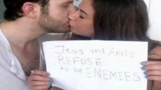 Amor entre periodista palestina y su novio israelí conmueve al mundo