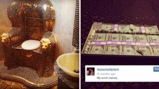 FOTOS: adolescentes millonarios presumen de sus riquezas en las redes sociales