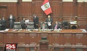 En el Congreso saludaron formación de nueva bancada Dignidad y Democracia