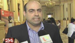 Pedro Spadaro denunciará a Pazos Holder por vincularlo con Rodolfo Orellana