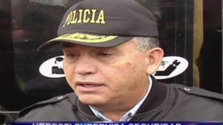 Urresti supervisó seguridad en empresas de transporte por Fiestas Patrias