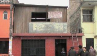 SJM: autoridades clausuraron un hostal que era usado como prostíbulo