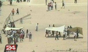 Traficantes de terrenos asesinaron a un poblador de Jicamarca